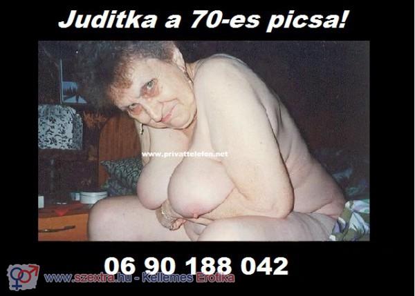 Juditka a 70-es picsa 06 90 188 042