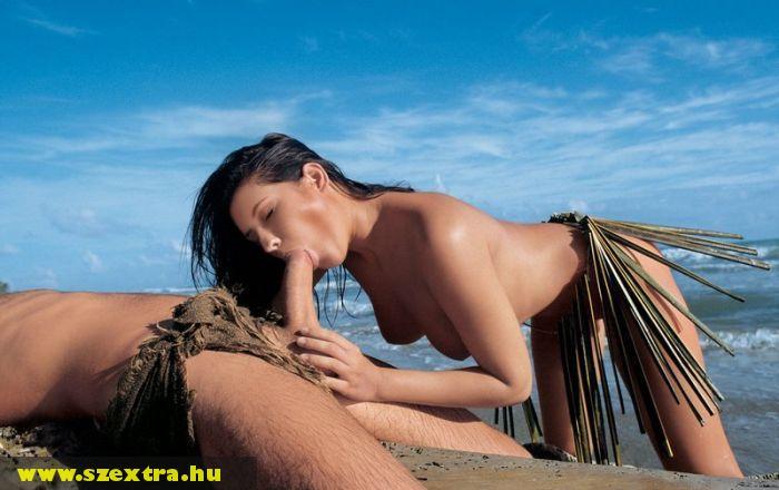 Szopás a tengerparton