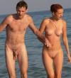 Nudista strandon